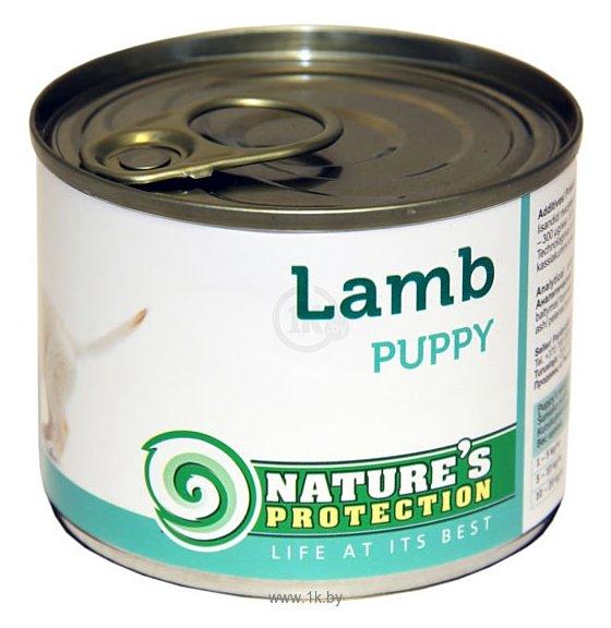 Фотографии Nature's Protection Консервы Puppy Lamb (0.2 кг) 1 шт.