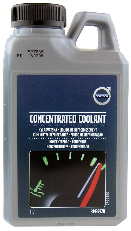 Фотографии Volvo Concentrated Coolant 1л