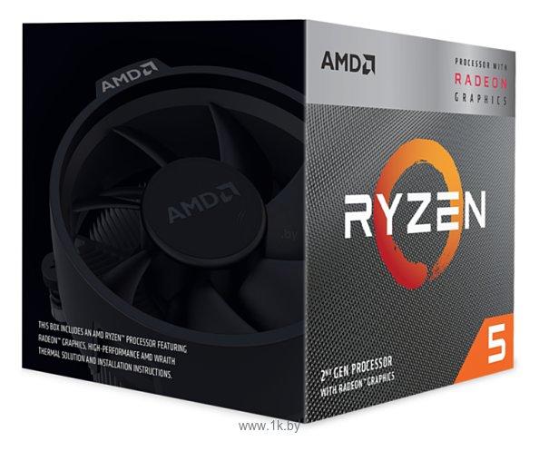 Фотографии AMD Ryzen 5 3400G Picasso (AM4, L3 4096Kb)