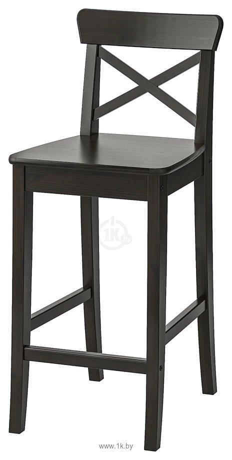 Фотографии Ikea Ингольф (коричнево-черный) (503.605.04)