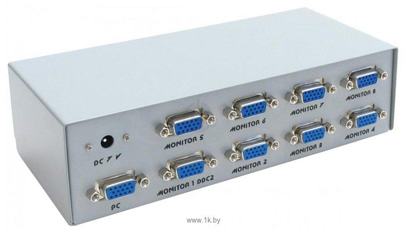 Фотографии VGA splitter 8 порта