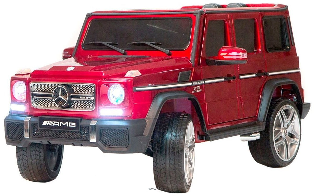 Фотографии RiverToys Mercedes-Benz G65 AMG 4WD (красный)