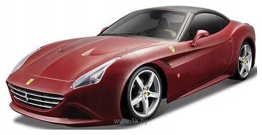 Фотографии Bburago Ferrari California T 1:24 18-26002 (красный)