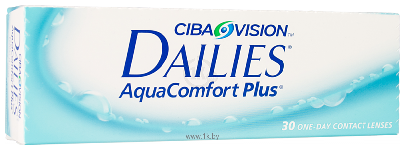 Фотографии Ciba Vision Dailies AquaComfort Plus (от +1.0 до +6.0) 8.7mm