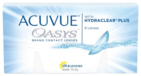 Фотографии Acuvue Oasys with Hydraclear Plus -5 дптр 8.4 mm
