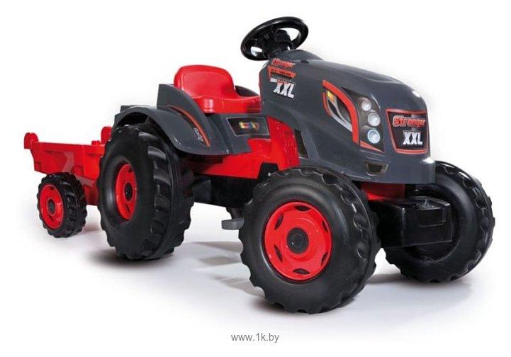 Фотографии Smoby Трактор педальный XXL с прицепом