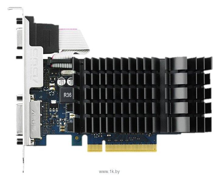 Фотографии ASUS GeForce GT 730 902Mhz PCI-E 2.0 2048Mb 5010Mhz 64 bit DVI HDMI HDCP Silent