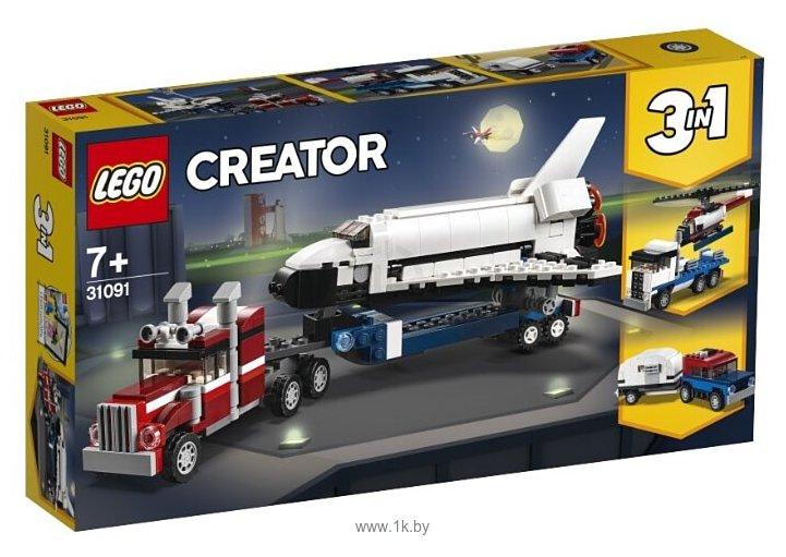 Фотографии LEGO Creator 31091 Транспортировщик шаттлов