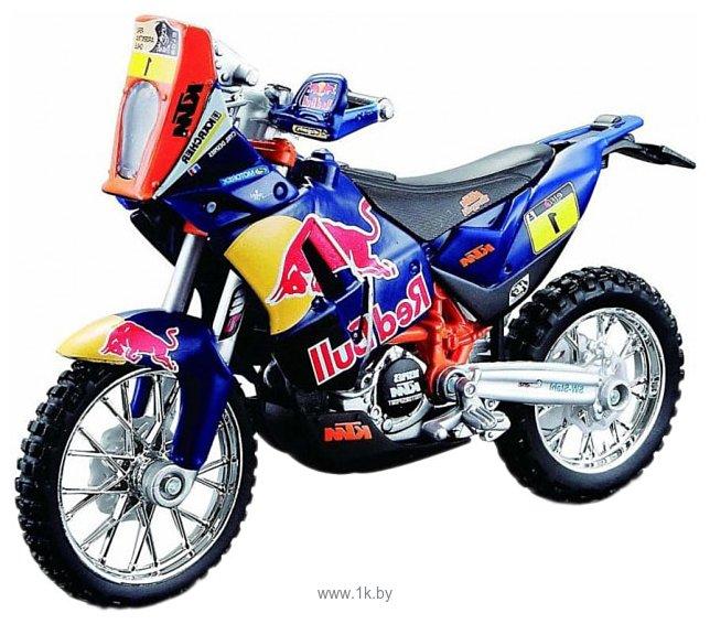 Фотографии Bburago Red Bull Factory racing КТМ 450 Dakar Rally 18-51071