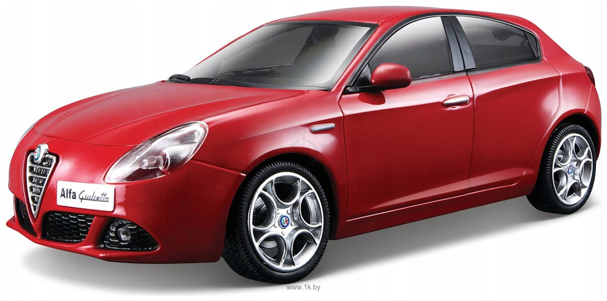 Фотографии Bburago Alfa Romeo Giulietta 18-22128 (красный)