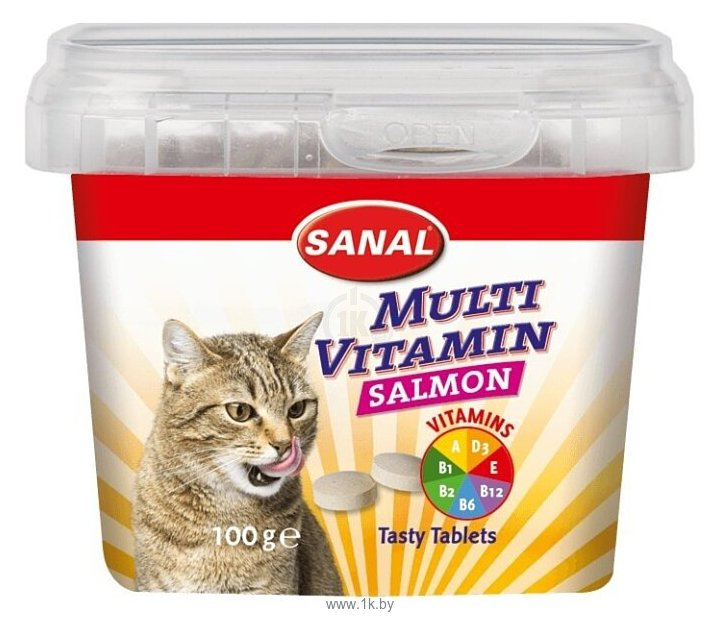 Фотографии SANAL Multi Vitamin Salmon