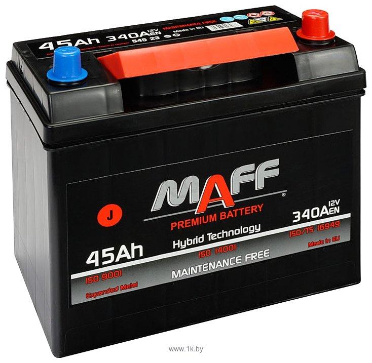 Фотографии MAFF Premium JR+ (45Ah)