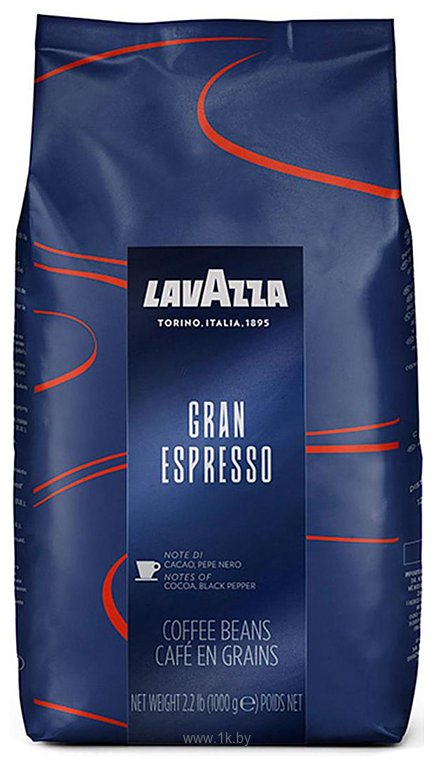 Фотографии Lavazza Gran Espresso в зернах 1000 г