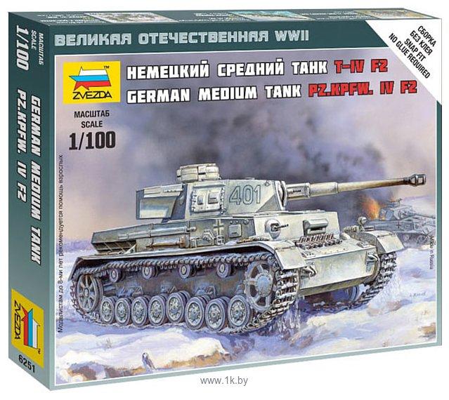 "Фотографии Звезда Немецкий танк ""T-4 F2"""