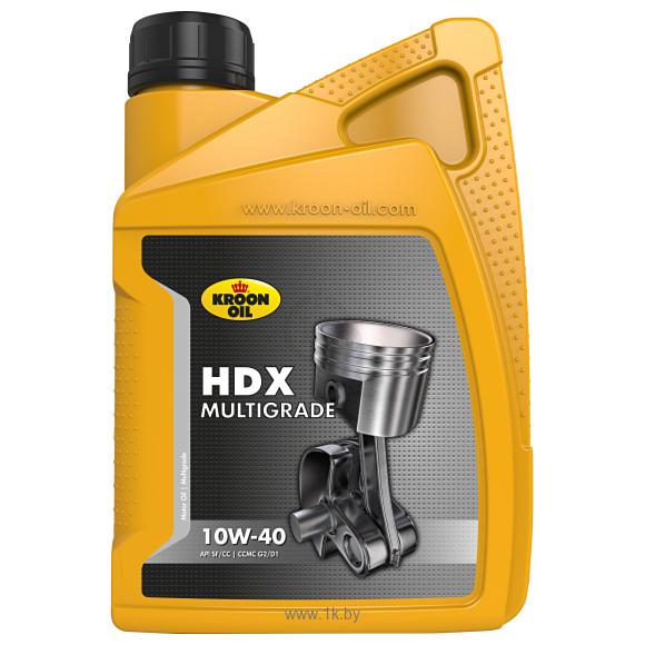 Фотографии Kroon Oil HDX Multigrade 10W-40 1л
