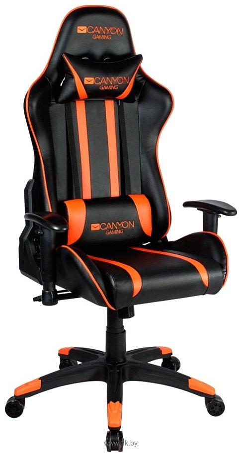Фотографии Canyon Fobos CND-SGCH3 (черный/оранжевый)