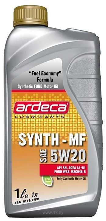 Фотографии Ardeca Synth-MF 5W-20 1л