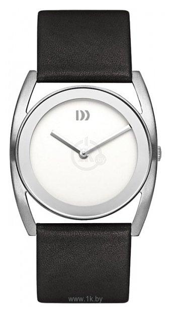 Danish Design Женские наручные fashion часы в коллекции Leather, модель IV12Q926SLWH купить в интернет-магазине, цена