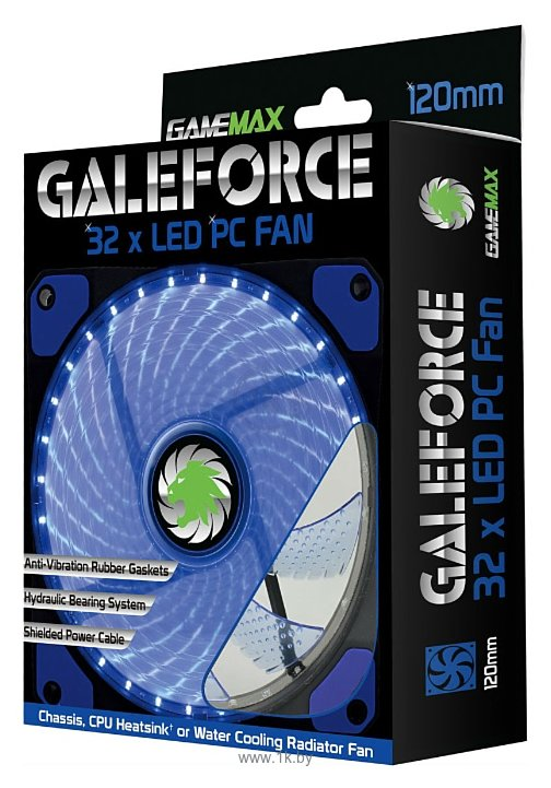 Фотографии GameMax Galeforce 32 x Blue LED