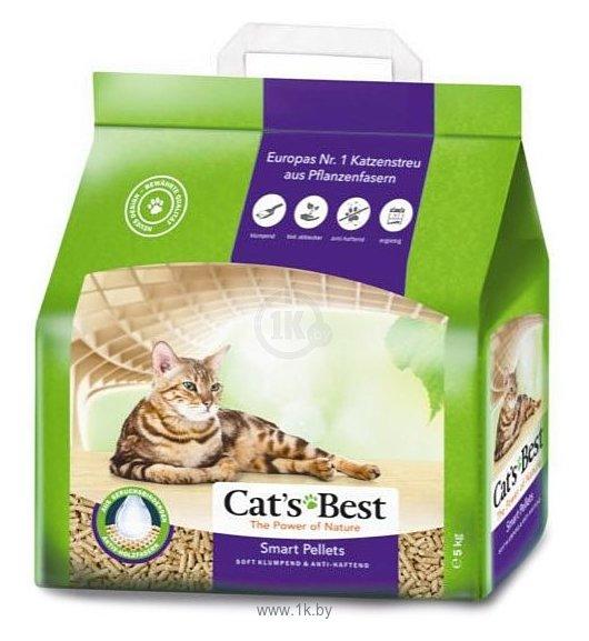 Фотографии Cat's Best Smart Pellets 5кг/10л