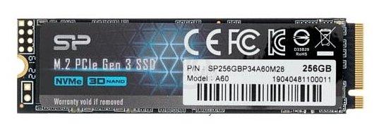 Фотографии Silicon Power 256 GB SP256GBP34A60M28