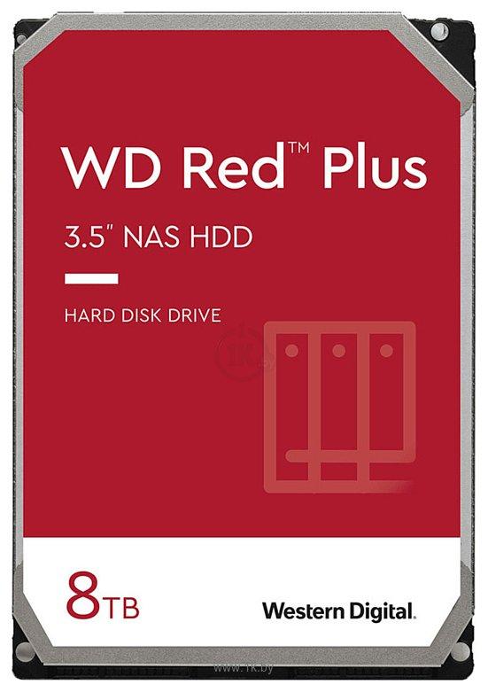Фотографии Western Digital Red Plus 8TB WD80EFBX