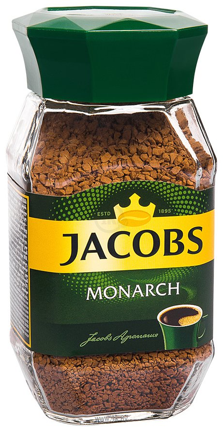 Фотографии Jacobs Monarch в банке 95 г