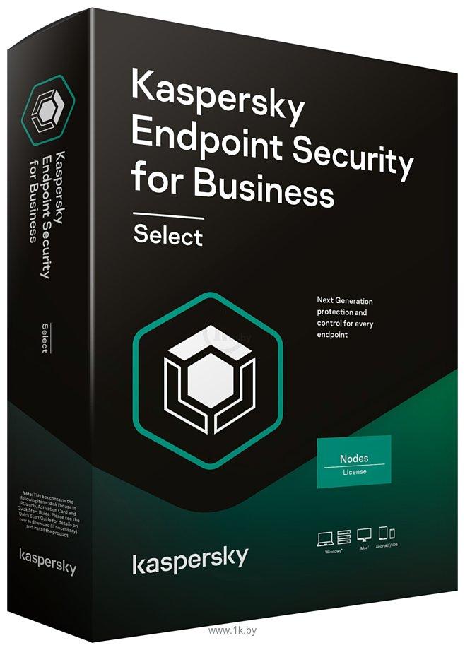 Фотографии Kaspersky Endpoint Security for Business Select (50 ПК, продление, 1 год)