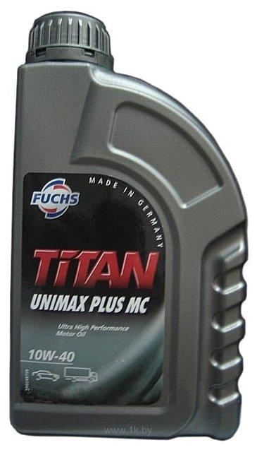 Фотографии Fuchs Titan UNIMAX Plus MC (unic, unic plus) 10W-40 1л