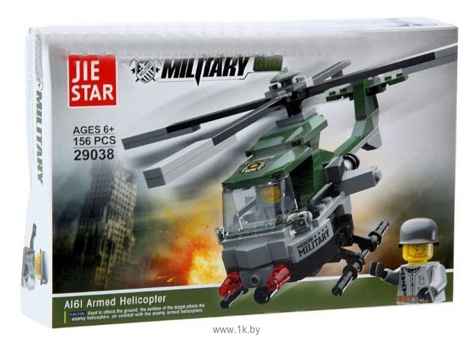 Фотографии Jie Star Military 29038 Вертолет-разведчик