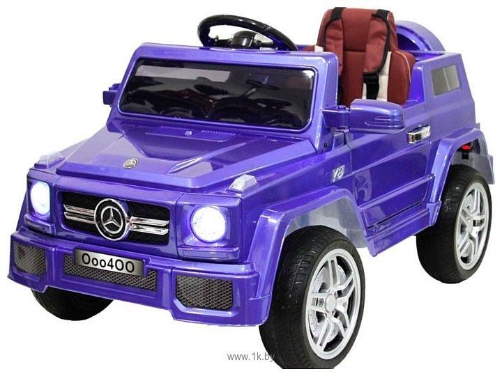 Фотографии RiverToys Mercedes-Benz O004OO VIP (синий)