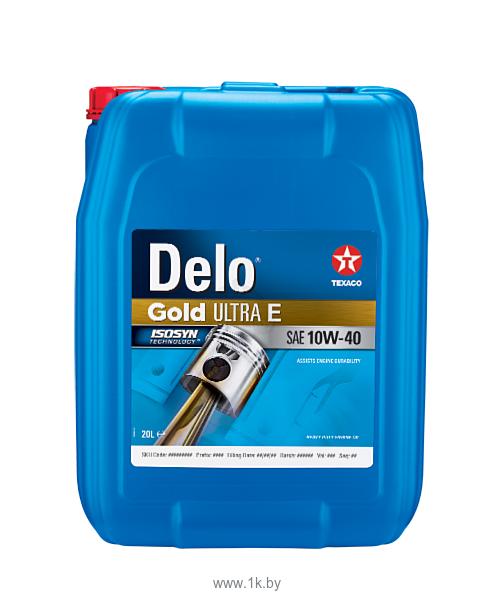 Фотографии Texaco Delo Gold Ultra E 10W-40 20л
