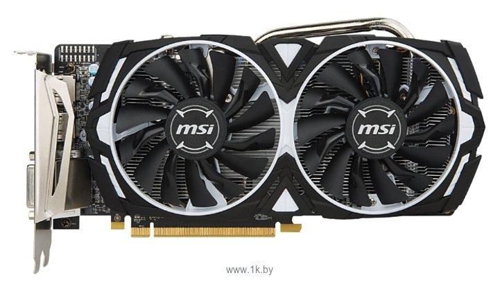 Фотографии MSI Radeon RX 570 8192Mb Armor OC