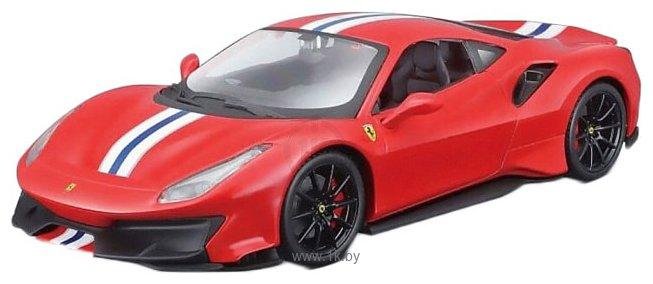 Фотографии Bburago Ferrari 488 Pista 18-26026 (красный)
