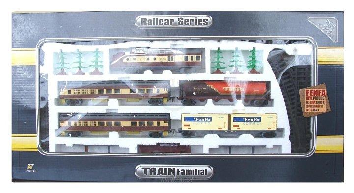 Фотографии Fenfa Стартовый набор ''Грузопассажирский поезд'' 1601B-1
