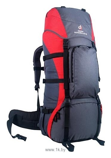 Фотографии Deuter Patagonia 60+10 grey/red (fire granite)