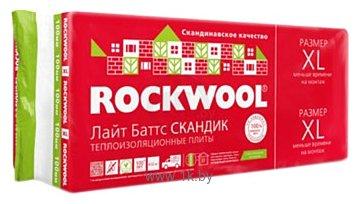 Фотографии Rockwool Лайт Баттс Скандик 1200x600 100 мм