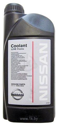Фотографии Nissan Coolant L248 Premix 1л