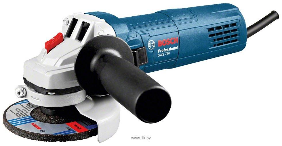 Фотографии Bosch GWS 750-125 (0601394001)