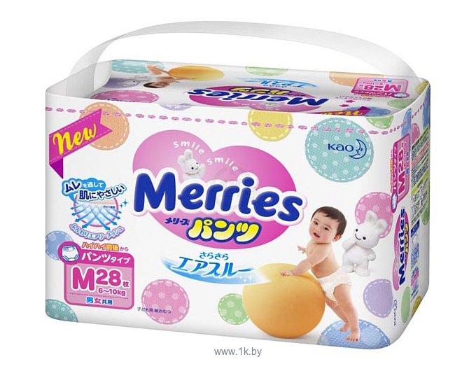 Фотографии Merries M (6-10) кг 28 шт