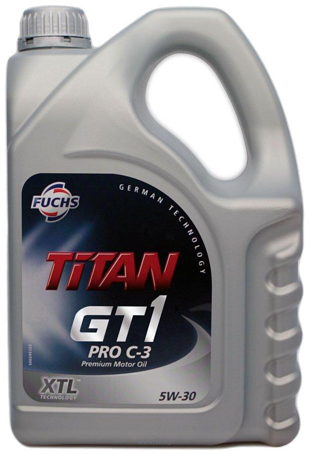 Фотографии Fuchs Titan GT1 Pro C-3 5W-30 4л