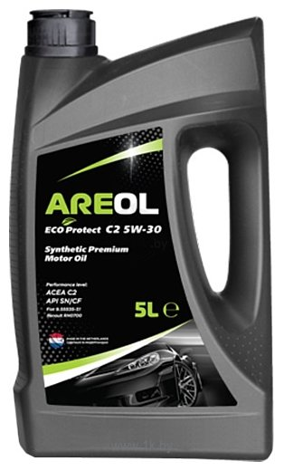 Фотографии Areol Eco Protect C2 5W-30 5л