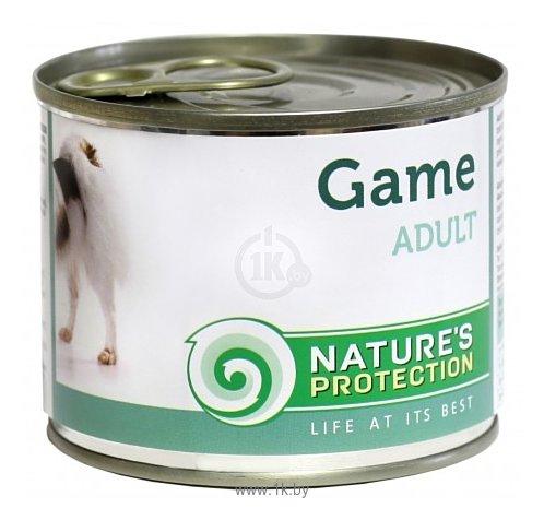 Фотографии Nature's Protection Консервы Dog Adult Game (0.4 кг) 1 шт.