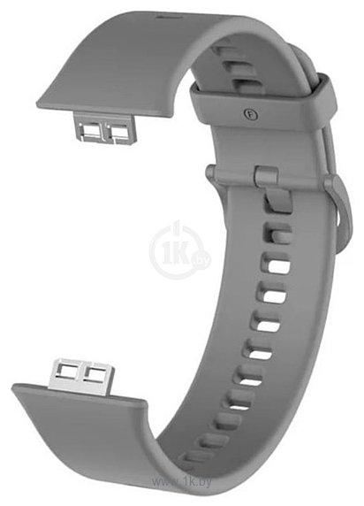 Фотографии KST силиконовый для Huawei Watch FIT (серый)