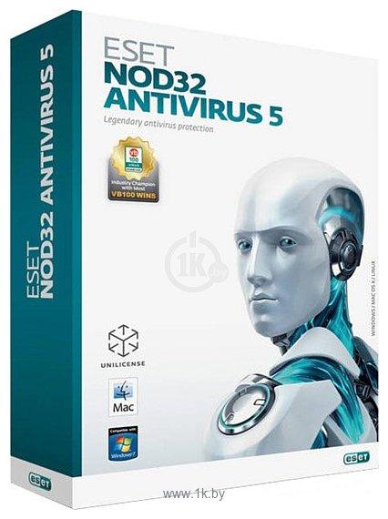 Фотографии NOD32 Антивирус 5 (3 ПК, 20 месяцев) продление лицензии
