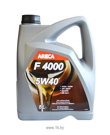 Фотографии Areca F4000 5W-40 5л (11402)