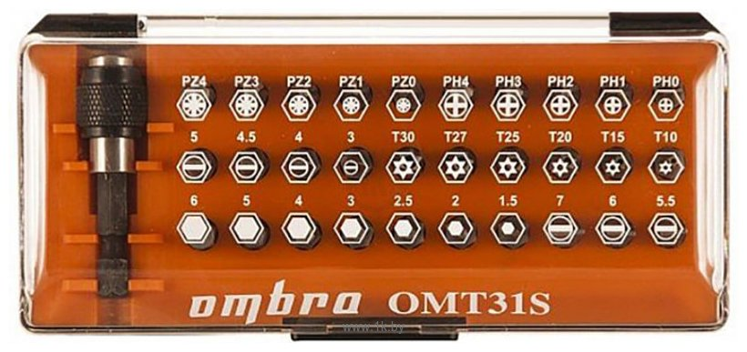 Фотографии Ombra OMT31S 31 предмет