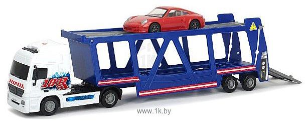 Фотографии DICKIE Трейлер автовоз и машинка Porsche 20 374 7004