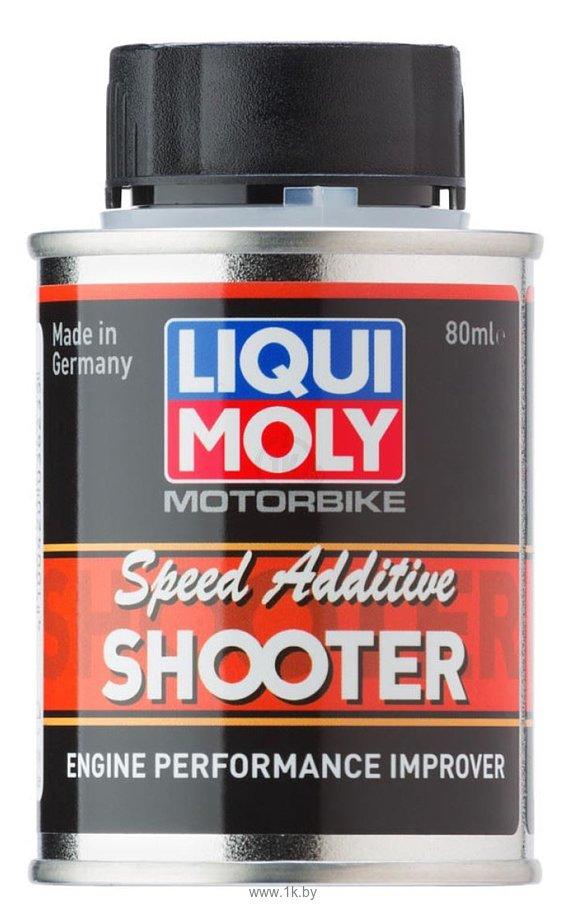 Фотографии Liqui Moly Motorbike Speed Additiv Shooter 80 ml
