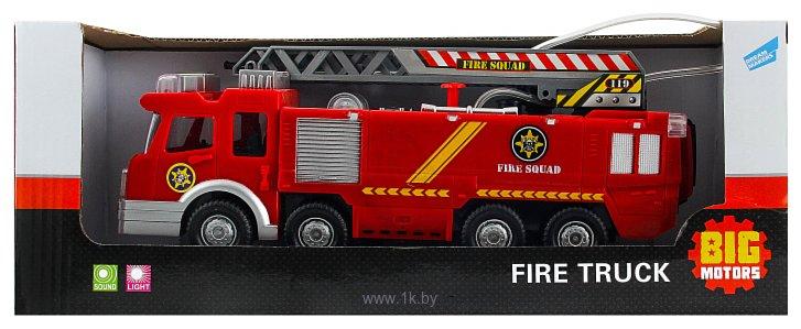 Фотографии Big Motors Пожарная машина с лестницей SY732